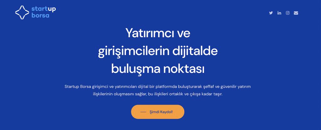 Startup Borsaya Hoşgeldiniz.